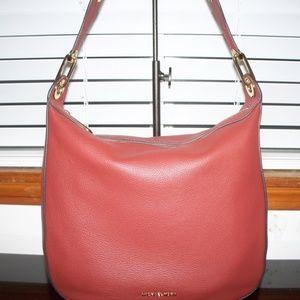Michael Kors RAVEN Brick Leather Shoulder Bag~ NWT